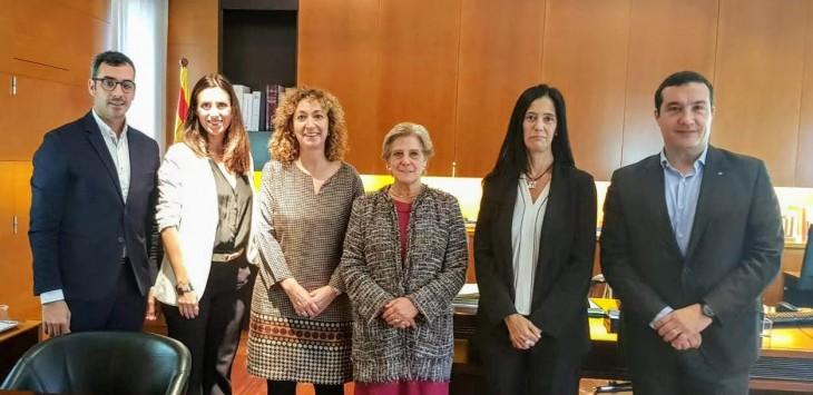 Reunió amb la Consellera de Justícia i Comissió de Codificació de Catalunya